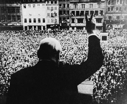 Winston Churchill in Strasbourg